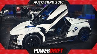 Tata RaceMo and Electric RaceMo EV @ Auto Expo 2018 : PowerDrift