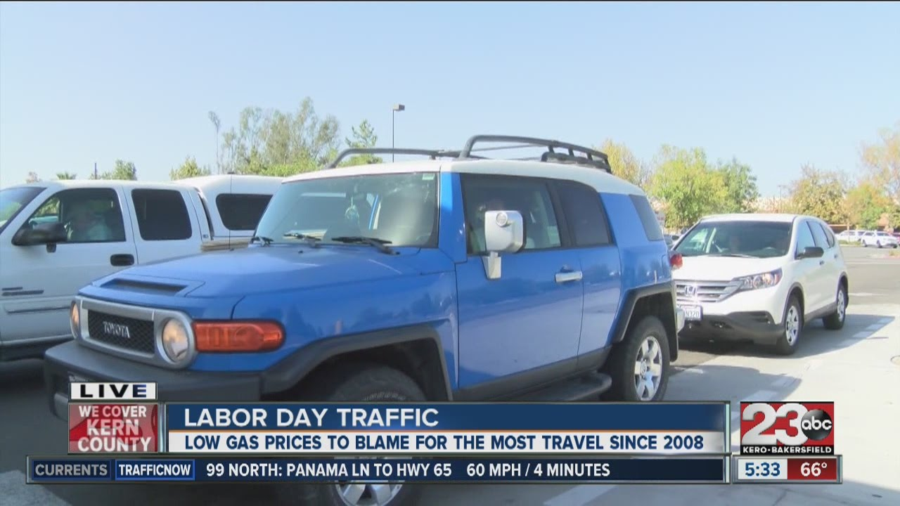 AAA predicts busiest Labor Day Weekend in 7 years
