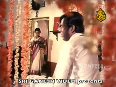 Kannada Hasya - Gangu Spends Her First Night - Kannada Hit Scenes...