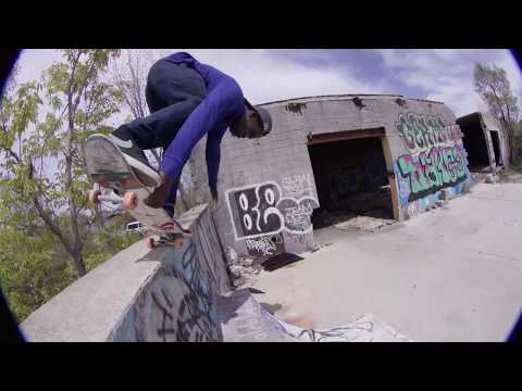 Alex Midler and The Redbull Ams in Detroit Pt 1