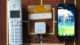 Dual SIM Bluetooth Adapter - Android iPhone iPad iPod [Unpack/Review]