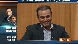 Aap Ki Adalat: Virat Kohli Should Not Be Criticized for His Personal Life, says Virender Sehwag
