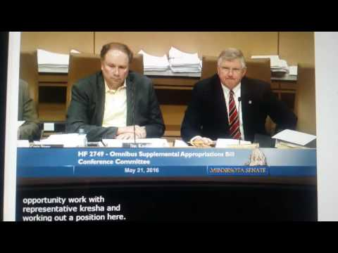 MN Conference Committee on Broadband (May 21, 2016)