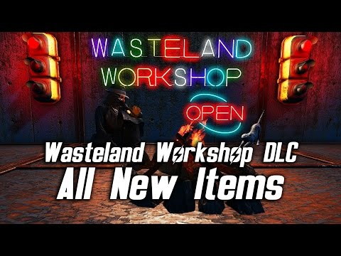 Fallout 4 Wasteland Workshop DLC - All New Items