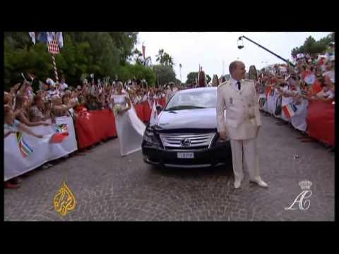Monaco celebrates new era with royal nuptials