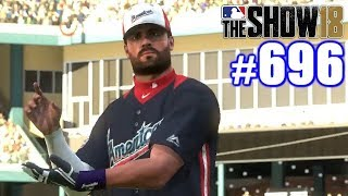 HOME RUN DERBY & ALL-STAR GAME! | MLB The Show 18 | Road to the Show #696
