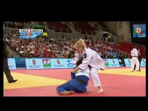 Judo European Championships 2013: Automne PAVIA (FRA) - Telma MONTEIRO (POR) Semi Final [-57kg]