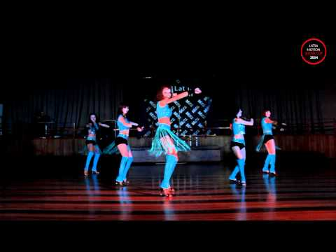 """Latin Motion Show Cup 2014 - """"Hot and Sexy"""" (Kharkov Zouk)"""