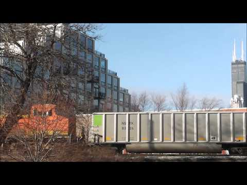 Railfanning at 16th St Tower &amp; 11th St / Museum Campus, 12.11.12
