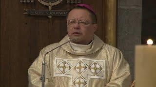 Msza św. na rozpoczęcie synodu (Łódź 2018)- wstęp abp. Rysia