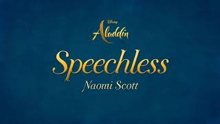 "Naomi Scott - Speechless (Full) (From ""Aladdin"")(Lyrics)"