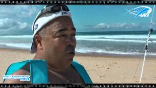 Interwiev with José Afonso in World Championship Surfcasting 2014 - France