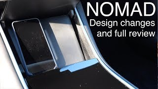 Nomad Wireless Charger for Tesla Model 3 - Full Review and Upcoming Design Changes