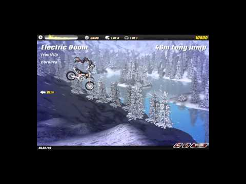 Motocross Nitro -- Frozen Lake sprint 39s!