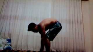 Home workout handstand push up Sedat Atay
