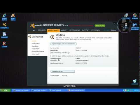 Avast Internet Security 8 BETA - Test with more links