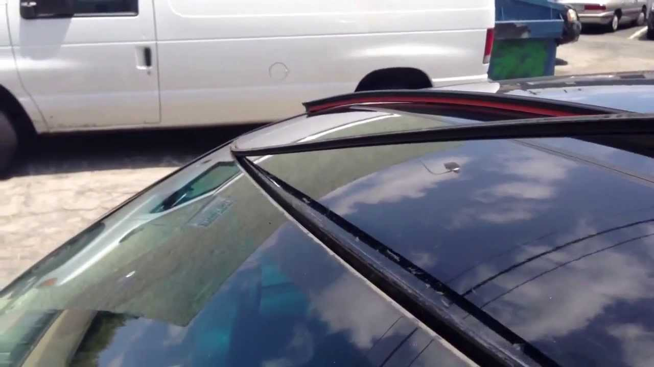 How To Replace Upper Windshield Weather Molding Trim Bmw 5