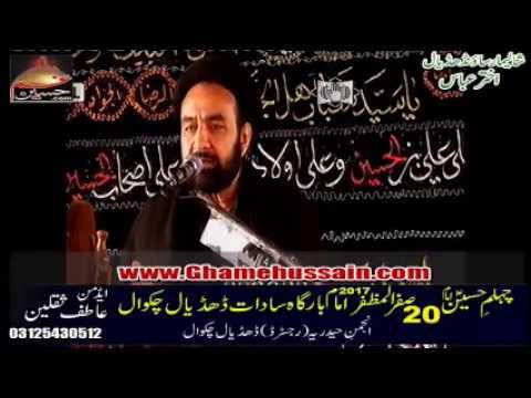 Agha Ali Hussain Qumi | 20 saffar 2017 | Dhudial Chakwal