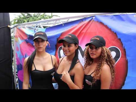 Chicas Maxxis Panamá en Patronales de Santiago 2013