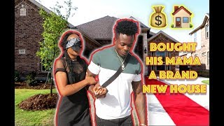Marquise Surprises His Mom and Sister With A Brand New House