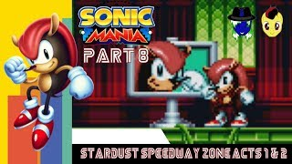 """Let's Play Sonic Mania Pt. 8: A """"Mighty"""" Comeback"""