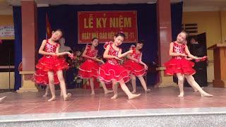 Bài múa Ở Trường Cô Dạy Em Thế 20/11/2016 Lớp 3A Trường Tiểu Học Chí Đám