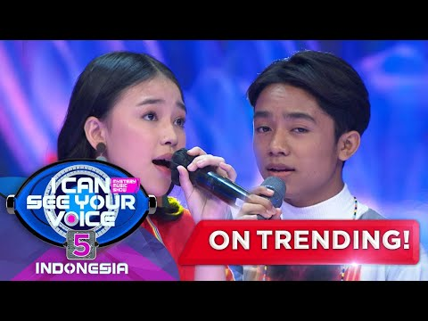 Download Lagu Duet Betrand & Anneth Yang Paling Keren! [TANPA BATAS WAKTU] - I Can See Your Voice Indonesia 5