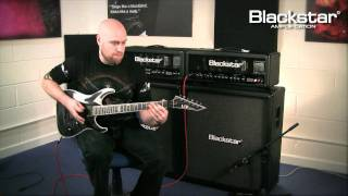 Blackstar Series One 100 demo of suggested settings with Andy James
