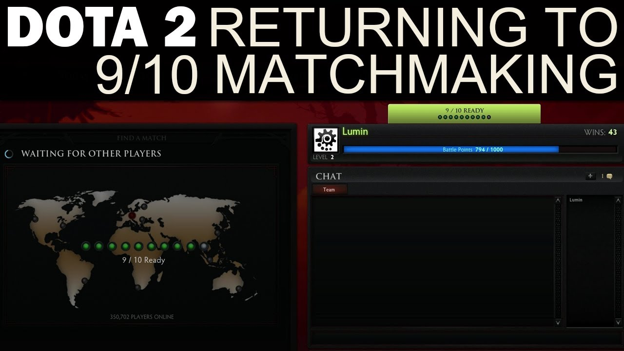 from Grant how to fix dota 2 matchmaking