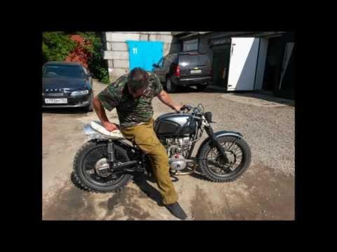 Голые на мотоциклах урал