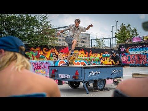 Hangar Festival: Falus Best Trick Contests (Rob Maatman, Jelle Maatman, Teun Janssen)