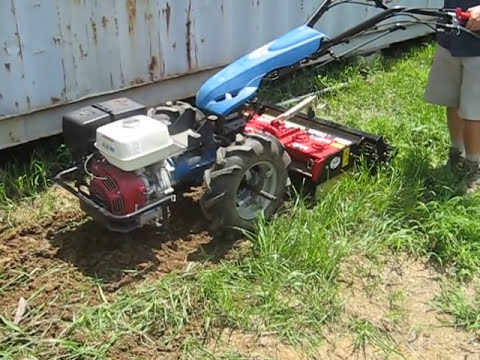 BCS 853 walk-behind tractor with 29