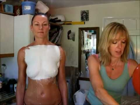 Body Casting at Louise Giblin's (BodyCastSculptor) Studio  01/07/11