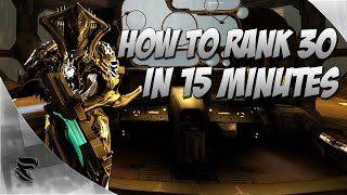 Warframe : How to level your weapons to level 30 In 15 Minutes or LESS