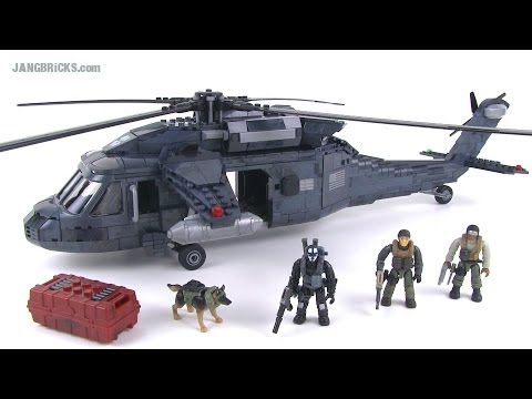Mega Bloks Call of Duty Ghosts Tactical Helicopter (Blackhawk) review 06858