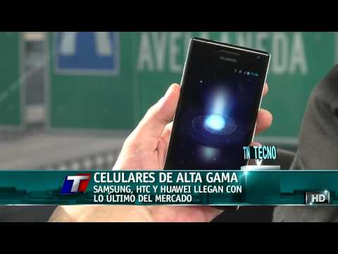TN Tecno 153-2 Supersmartphones: Samsung Galaxy S3, HTC One y Huawei Ascend P1