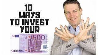 10 ways to invest from Europe - Investing your Euros