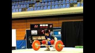 New Middle school Record (Weightlifting) in Japan