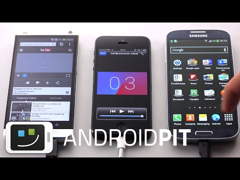Samsung Galaxy S4 vs HTC One M7 vs iPhone 5 - Performance da Bateria [COMPARATIVO]