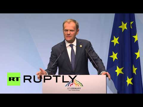 Germany: Sanctions on Russia can only be maintained or strengthened - EU's Tusk