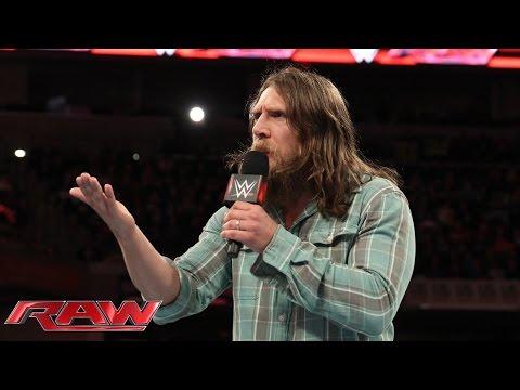 Daniel Bryan has big plans for members of Team Authority: Raw, November 24, 2014