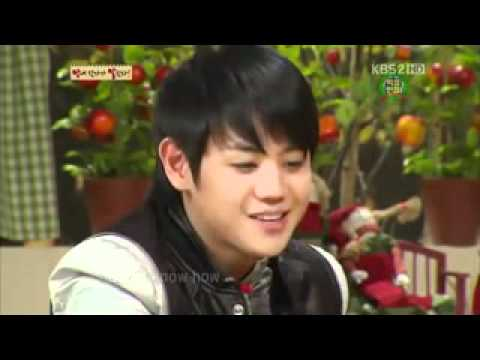 110226 Oh My School - SHINee Onew & BEAST Yoseob english battle