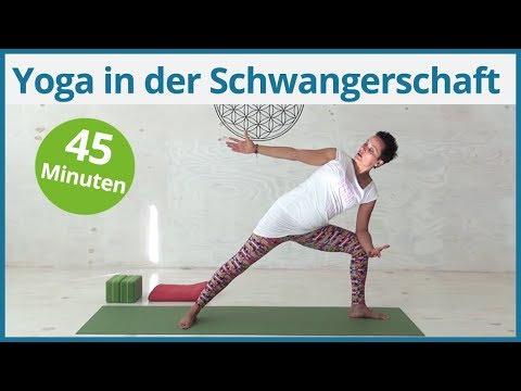 """45 MInuten Yoga in der Schwangerschaft """"Yoga für Mama & Baby"""""""