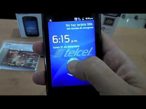 Nuevo Smartphone Telcel T20 (ZTE V793) - Telcel Guerrero Mobile -