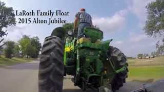 LaRosh Family Float at Alton Jubilee