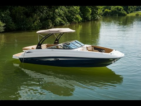 Sea Ray 240 Sundeck Product Walk-through