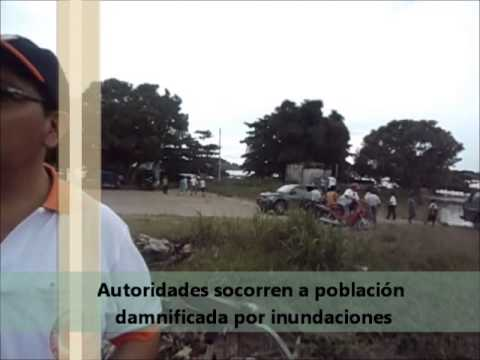 DEFENSA CIVIL APOYO INUNDACIONES 2014