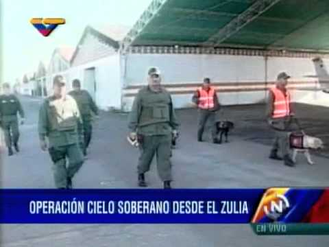 Néstor Reverol inspecciona el Aeropuerto del estado Zulia