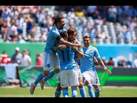 Villa, Lampard & Pirlo Goals - New York City FC vs Philadelphia Union 3-2 Highlights 18.06.2016