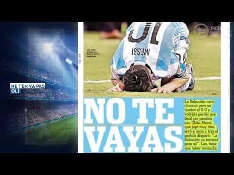 Lionel Messi Annonce Sa Retraite Internationale, Griezmann Et Hazard Héros Nationaux !